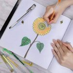 YOHOOLYO 60PCS Stylos Gel Pailletté Multicolores Crayons Gel Stylos Billes à Encre Gel avec Une Boîte Feutre Fin pour Dessin de la marque YOHOOLYO image 5 produit