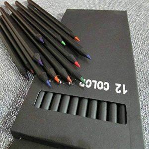 Zantec 12 Pcs Crayons de Couleur Set pour Peinture Prenant Notes Art Fournitures Enfants Cadeaux de la marque Zantec image 0 produit