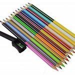 Zap bicolore Crayons, 24couleurs claires Lot de 12(assortis) de la marque Zap Impex image 3 produit