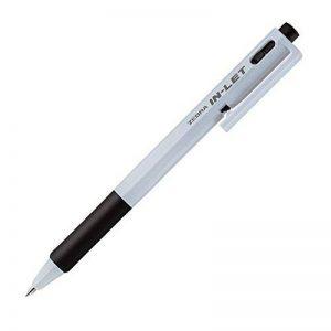 Zebra traces de stylo à bille d'arrivée d'eau Blanc B-bn15-bk Noir 10pièces de la marque Zebra image 0 produit