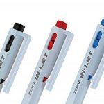 Zebra traces de stylo à bille d'arrivée d'eau Blanc B-bn15-bk Noir 10pièces de la marque Zebra image 2 produit
